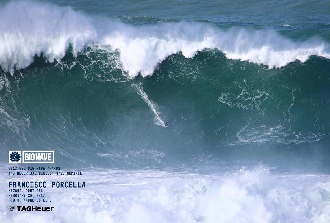 Francisco Porcella Biggest Wave 2017