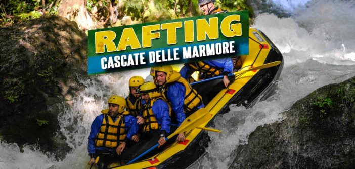 Rafting alle Cascate delle Marmore