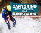 Canyoning Fosso della Mola (Rieti)